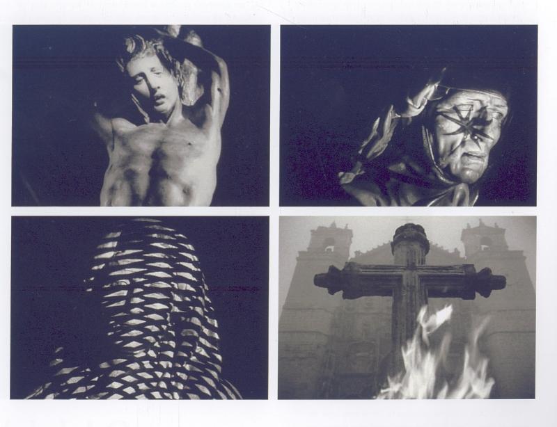 Od ekstazy do zachwytu. 50 lat innego kina hiszpańskiego. Fuego en castilla (c) Jose Val del Omar, 1958-60