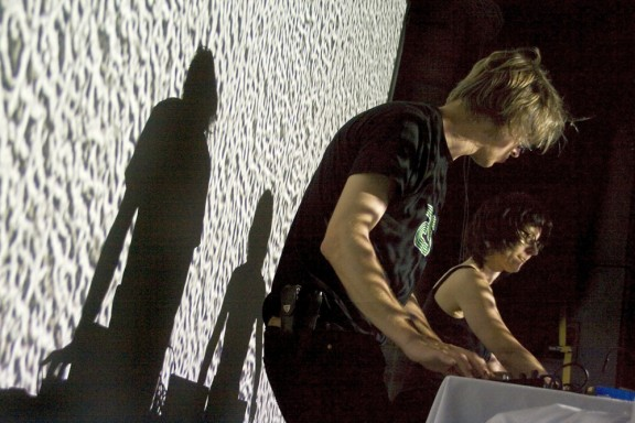 Incite - koncert na WRO 09, fot. Alicja Kołodziejczyk