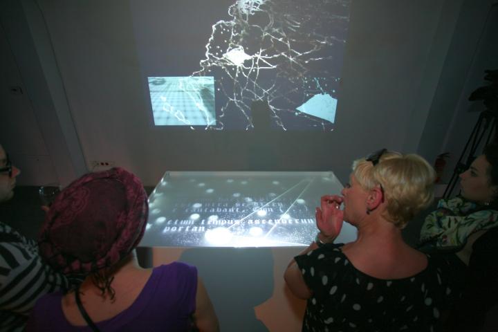 WRO 2011, Wystawa Moving Stories, instalacja Pawła Janickiego Oceanus, fot. Mirosław Emil Koch