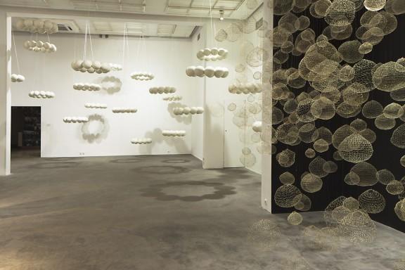 Xawery Wolski, fragment wystawy Portret, Galeria Bielska BWA, Bielsko-Biała, 12 maja – 13 czerwca 2011, fot. K. Morcinek, materiały udostępnione przez organizatora