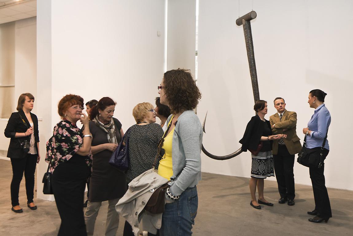 Wernisaż wystawy Xawerego Wolskiego Portret, Galeria Bielska BWA, Bielsko-Biała, 12 maja 2011, fot. K. Morcinek, materiały udostępnione przez organizatora