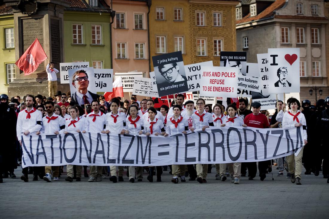 Zamach (Assassination), 2011, fotografia z planu, fot: Marcin Kalinski