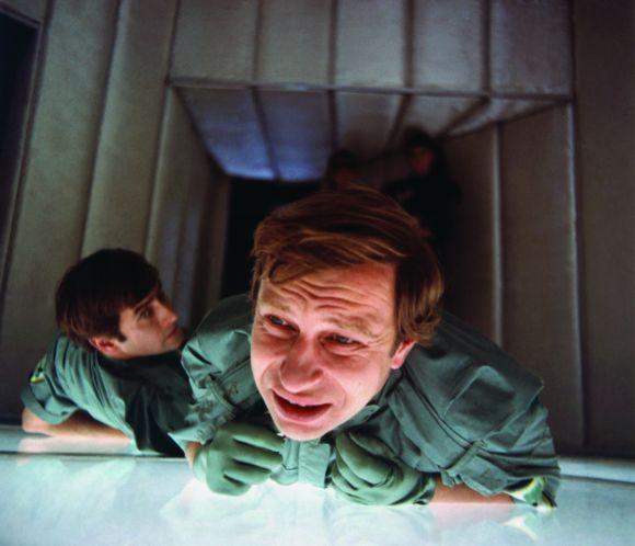 """Jerzy Stuhr w filmie Juliusza Machulskiego """"Seksmisja"""", 1983, materiał udostępniony przez organizatora"""