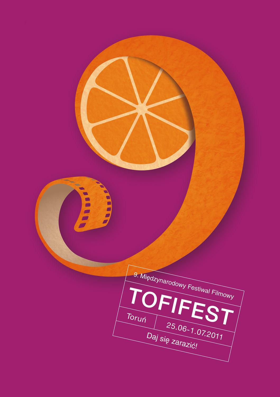 9. Międzynarodowy Festiwal Filmowy Tofifest 2011 - plakat, materiał udostępniony przez organizatora