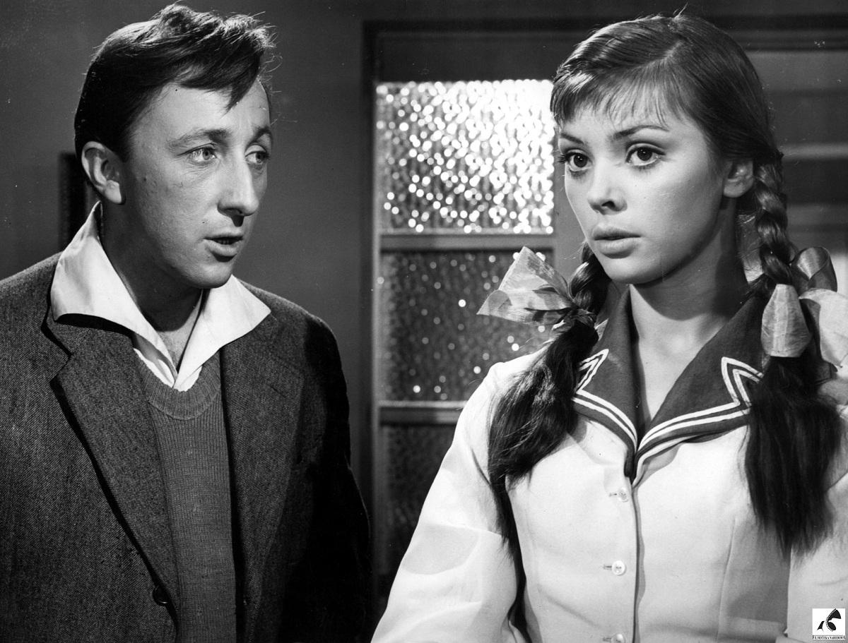 """Reż. Andrzej Munk """"Zezowate szczęście"""", 1960 - kadr z filmu, materiał udostępniony przez organizatora"""