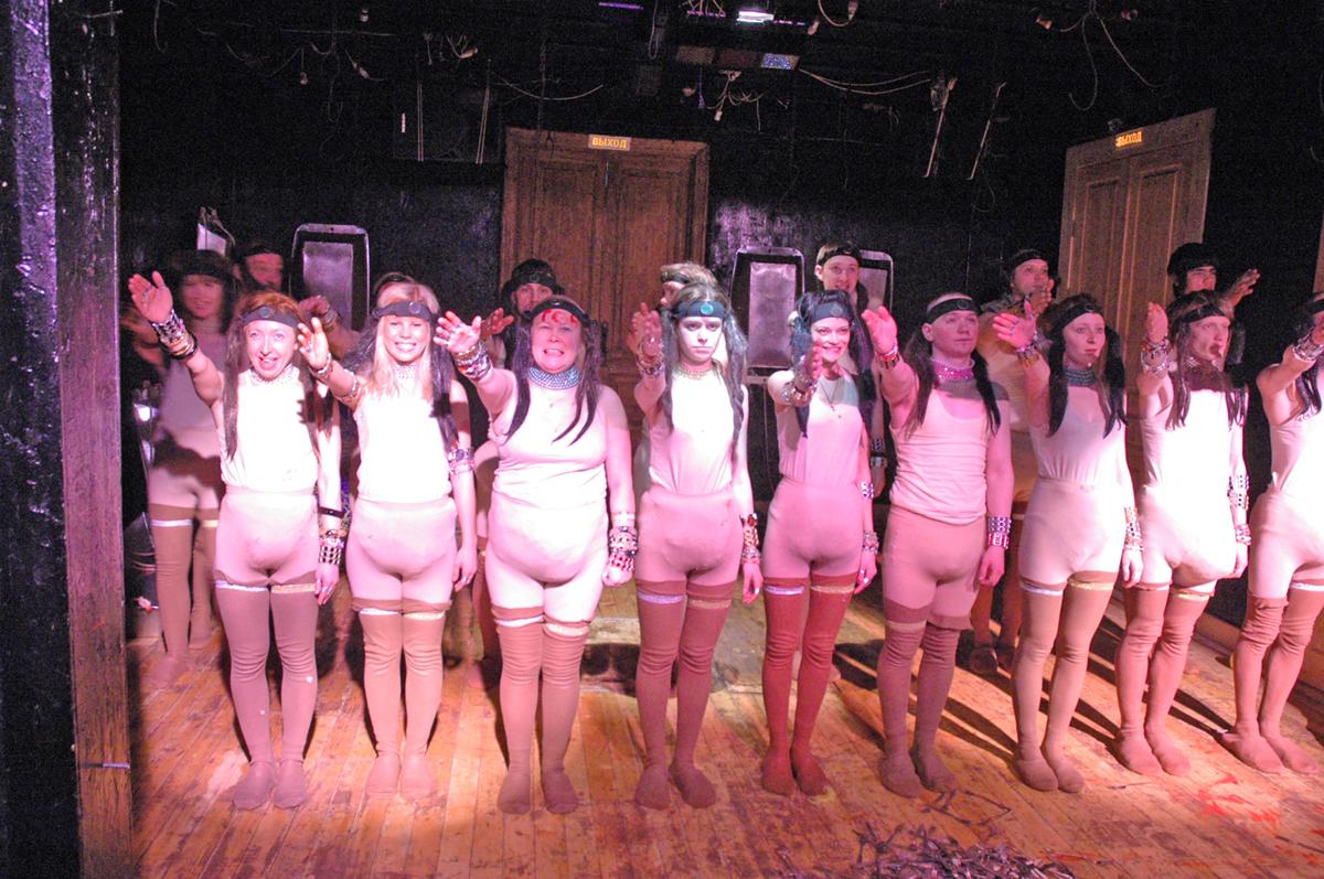 Teatr Kolady - Król Lear, reż. Nikolaj Kolada. Materiały udostępnione przez organizatora