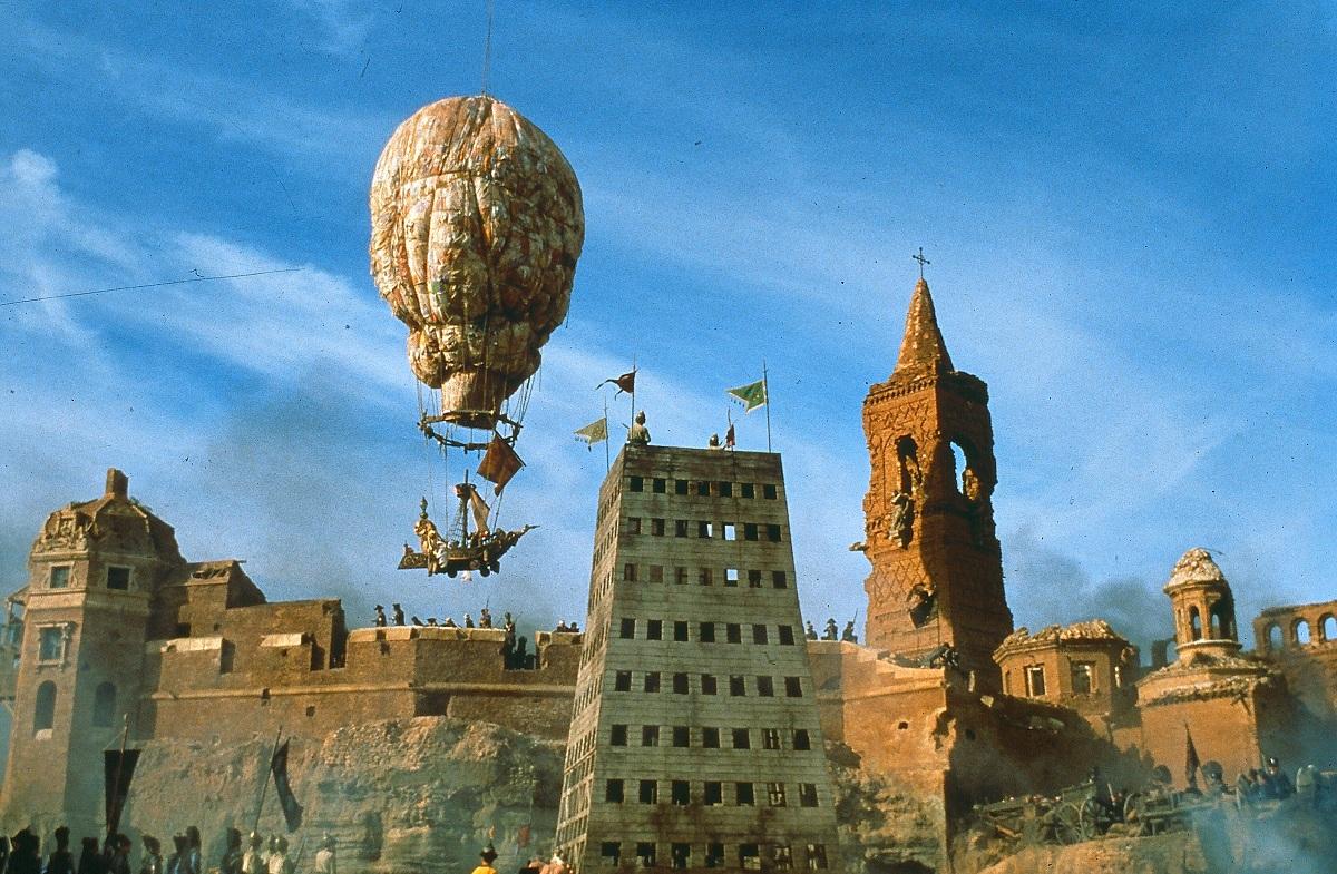 """Reż. Terry Gilliam """"Przygody barona Munchausena"""", 1988 - kadr z filmu, materiał udostępniony przez organizatora"""
