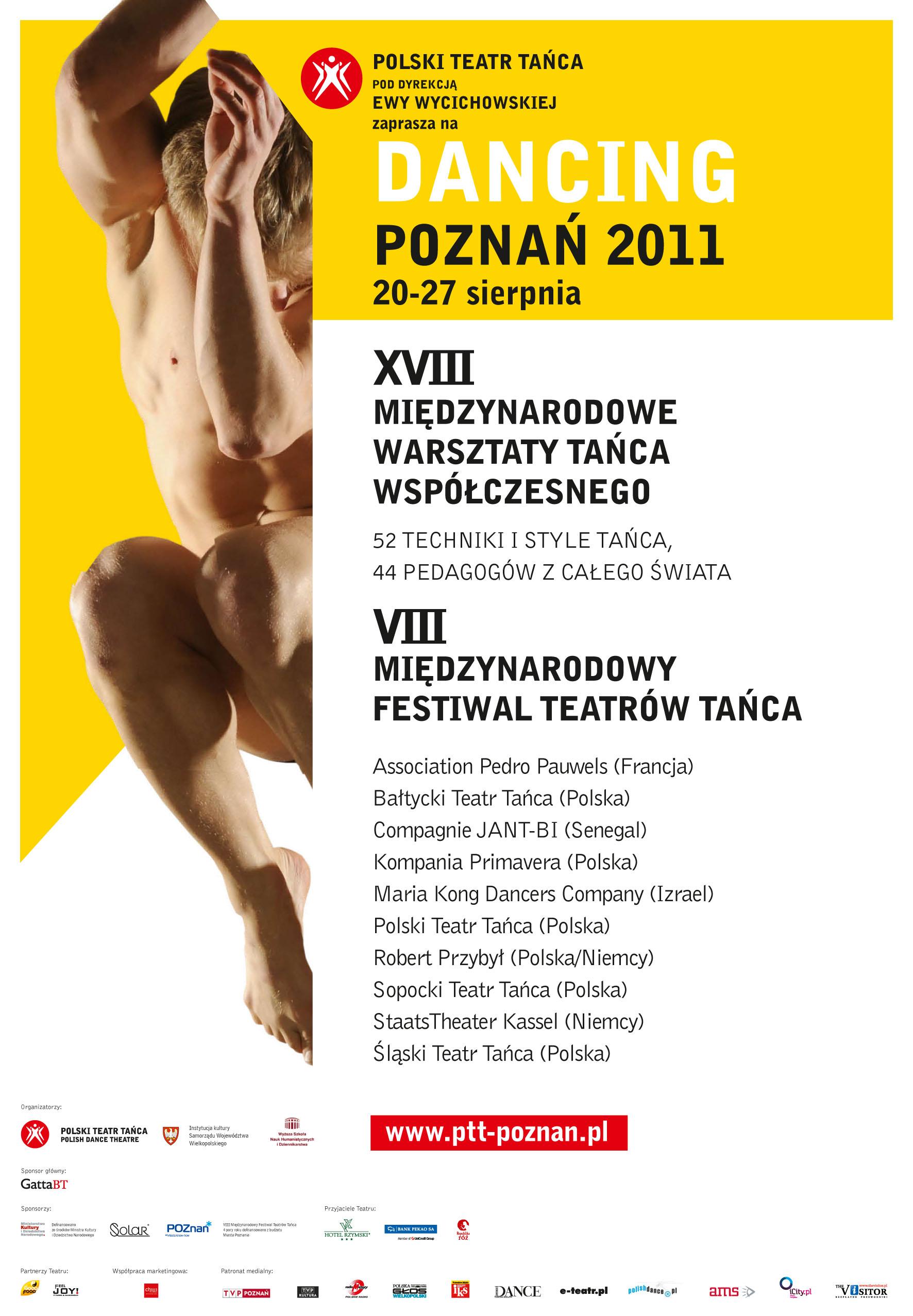 Afisz. Dancing Poznań 2011