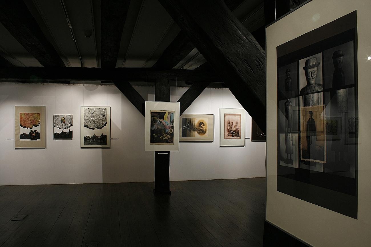 Wystawa Andrzeja Różyckiego w Galerii Wozownia (zdjęcia z materiałów organizatora)