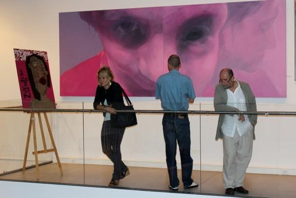 Grand Prix w kategorii malarstwo, Wejrzenie (zdjęcie pochodzi z materiałów udostępnionych przez organizatora)