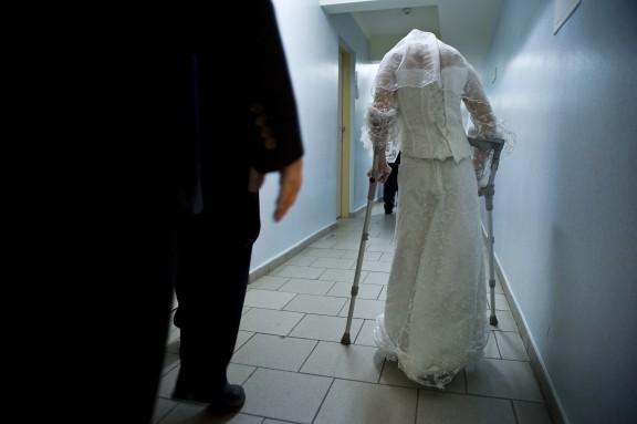 """Karolina Jonderko """"(Nie)typowy pokaz mody ślubnej"""" (zdjęcie z materiałów organizatora)"""