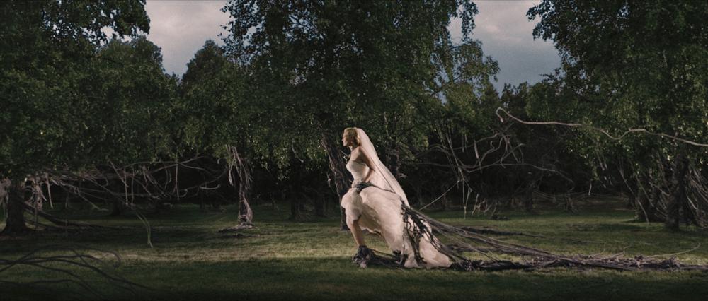 Kadr z filmu Melancholia, reż Lars von Trier