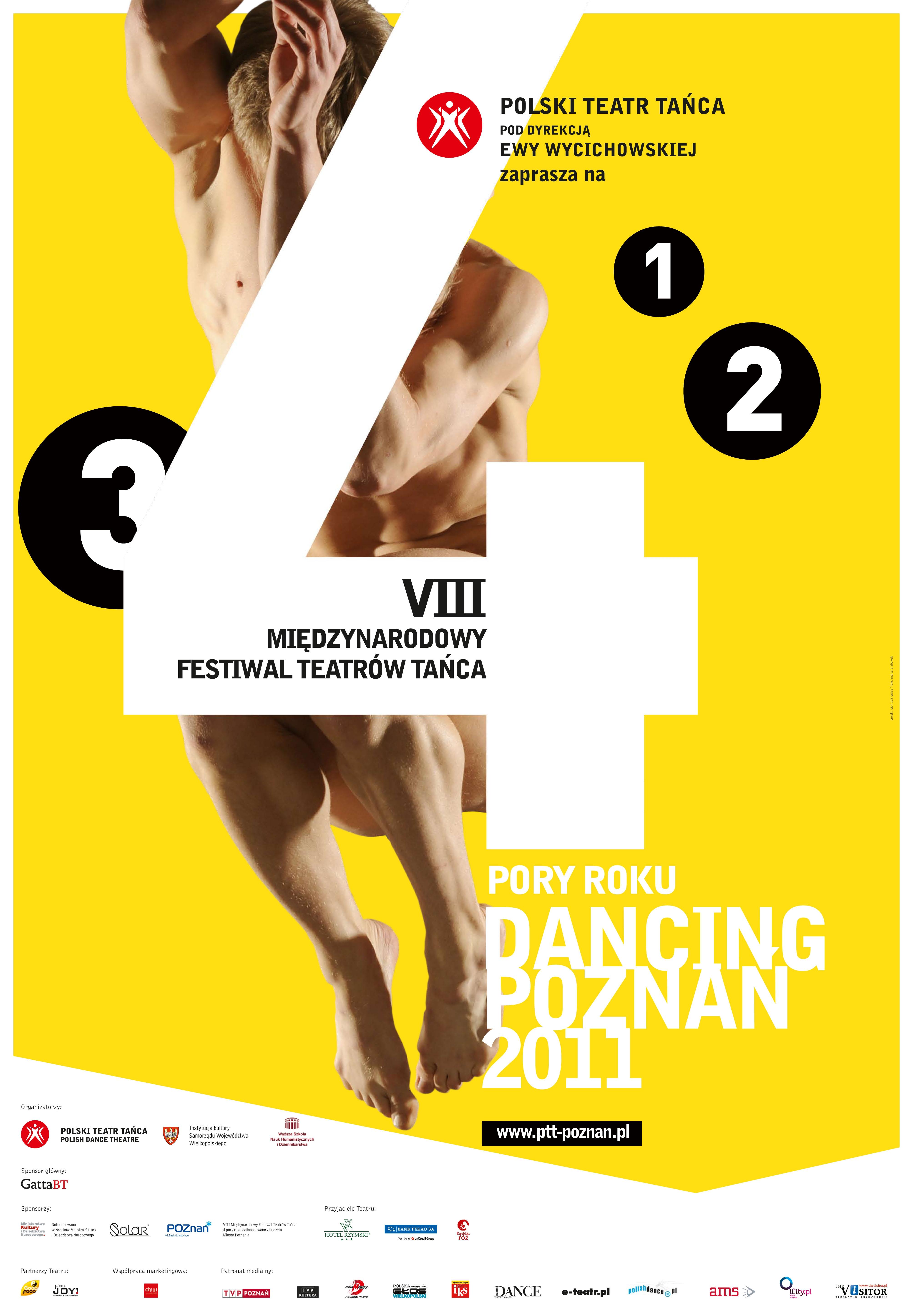 Plakat. Dancing Poznań 2011