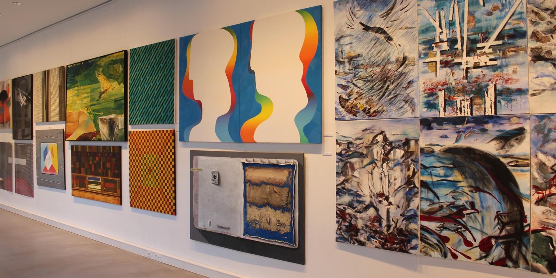 Wystawa prac nagrodzonych na VI Międzynarodowym Biennale Malarstwa i Tkaniny Unikatowej (zdjęcie pochodzi z materiałów udostępnionych przez organizatora)