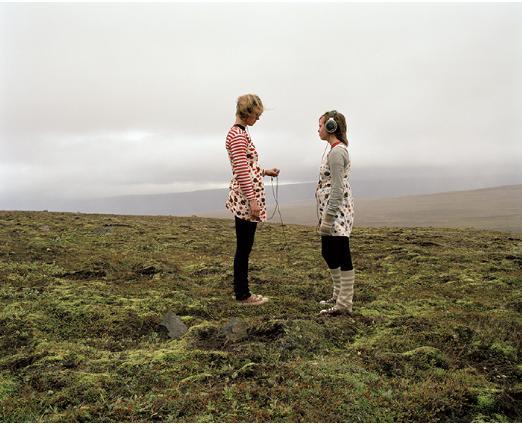 """Katerina Mistal, """"A fear of landscape"""" - wystawa """"Marginalność pejzażu"""" (zdjęcie udostępnione przez organizatora)"""