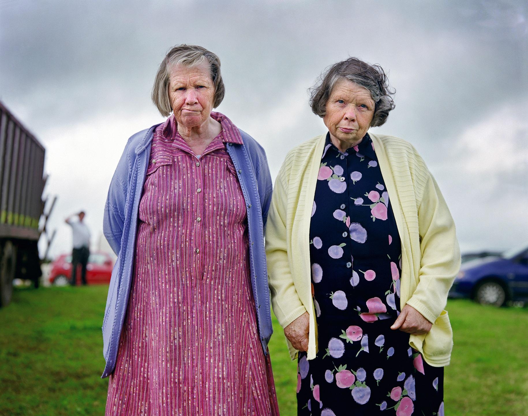 3. nagroda w kategorii Portrety - reportaż: Kenneth O'Halloran, Irlandia, Ireland Fairground public