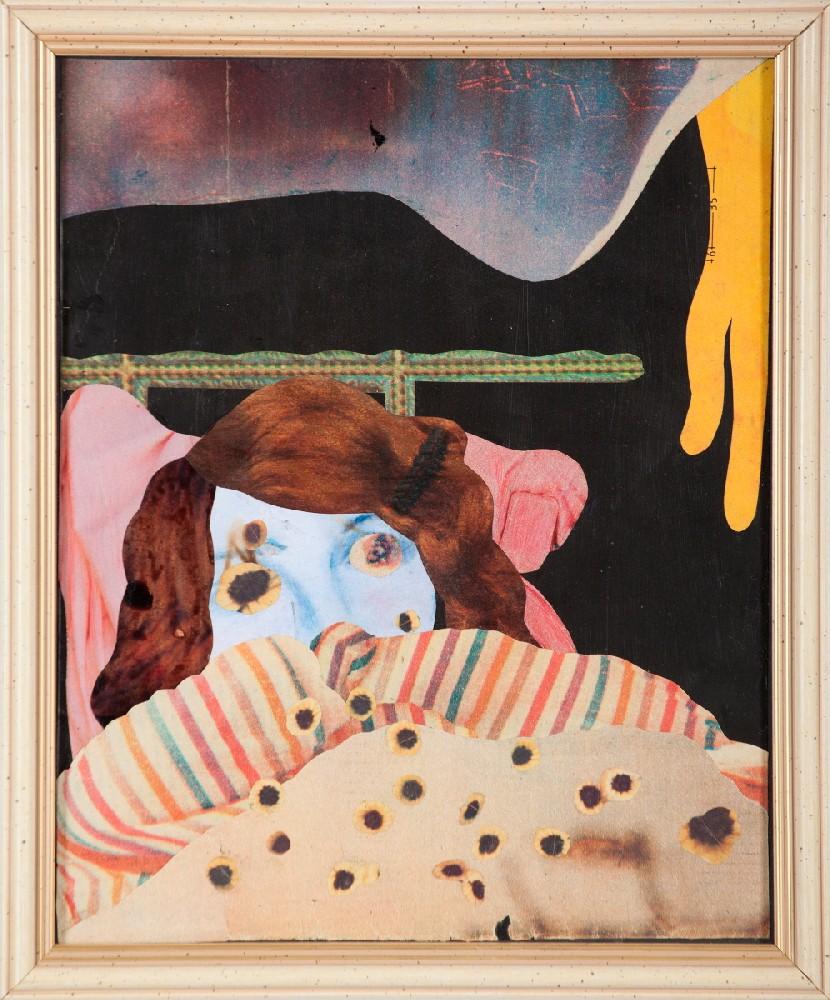 Konrad Maciejewicz, Bez tytułu, 2010, kolaż, papier, 25 x 20 cm, fot. Jacek Rojkowski