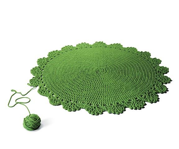 NeoFarm, AZE design, Nodus carpet, green