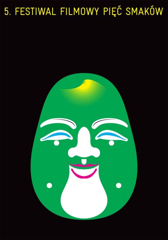 5 Festiwal Filmowy Pięć Smaków - plakat (źródło: materiały prasowe organizatora)