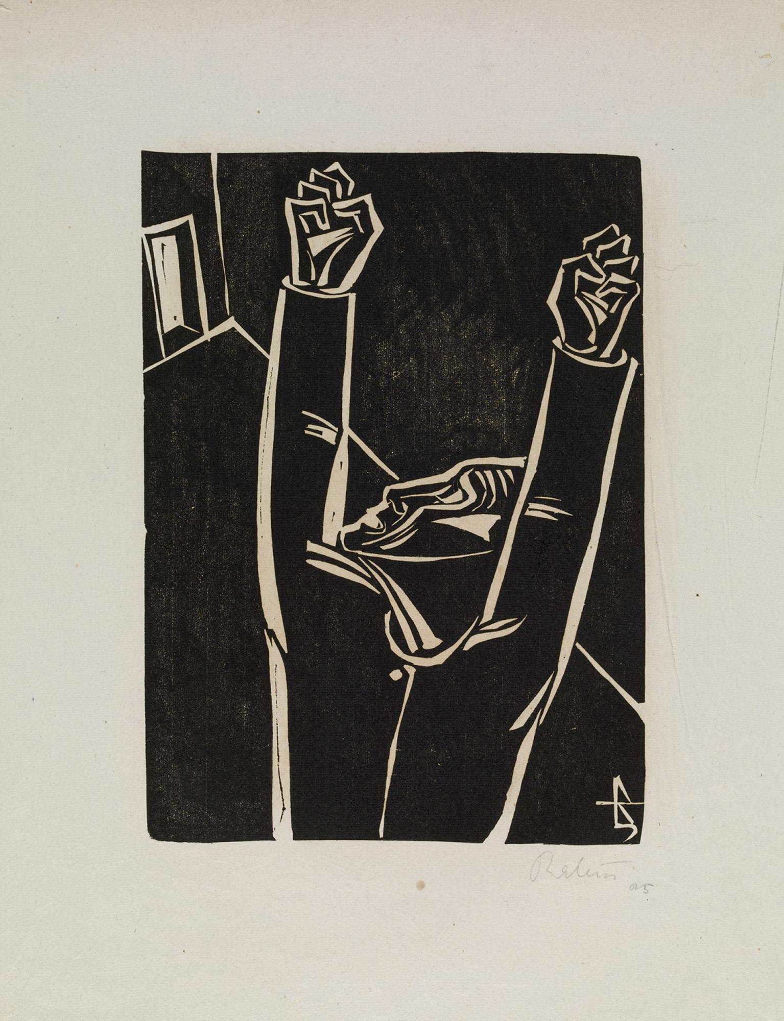 Carl Rabus, Der Hinkemann, drzeworyt, 1925 (zdjęcie udostępnione przez organizatora)