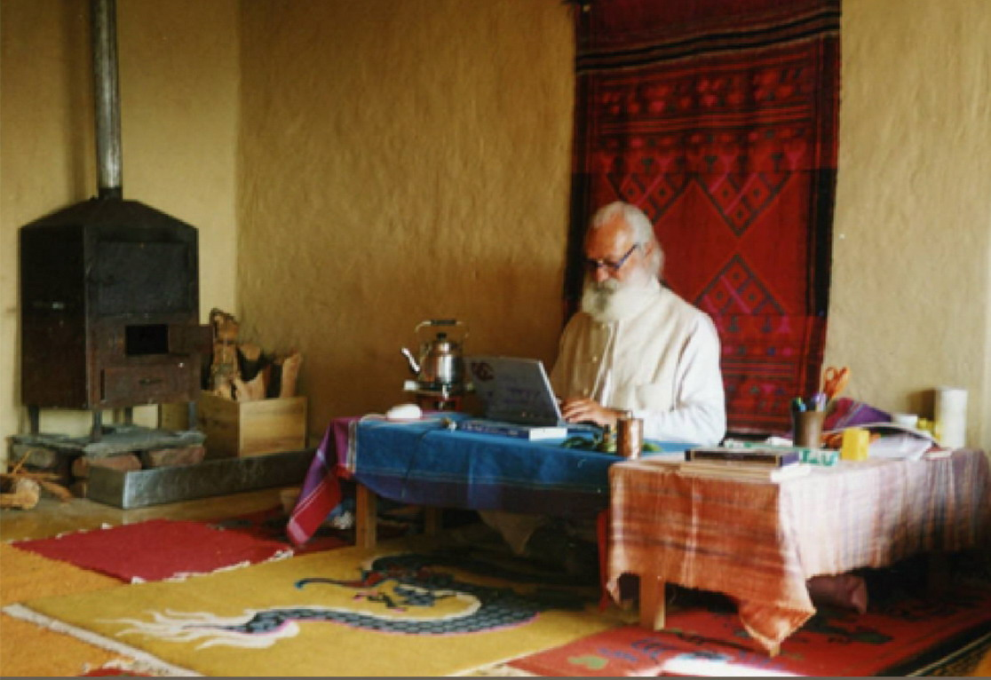 Tiziano Terzani - kadr z filmu (źródło: materiał prasowy organizatora)