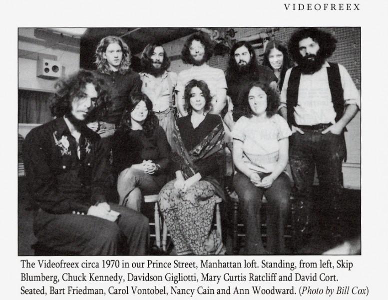 Videofreex, Official fotocopy, fot. Bill Cox