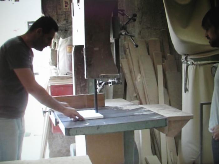 Wojciech Gilewicz, Bat Yam, 2008 (kadr wideo)