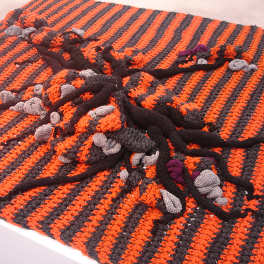 Silva Regon - Neoplastic knitting, California Nanosystems Institute, 2008 (źródło: materiał prasowy organizatora)