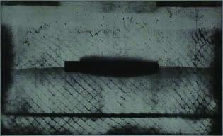 """Tomasz Daniec """"Peryferia IV"""", akwatinta 61x100 cm, 2009 (źródło: materiały prasowe organizatora)"""