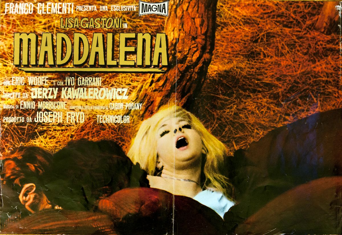 Plakat do filmu Jerzego Kawalerowicza (źródło: materiał prasowy)