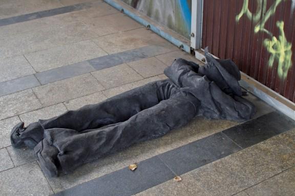 """Łukasz Jastrubczak, """"Śpiący kowboj"""", 2011 (źródło: materiał prasowy)"""