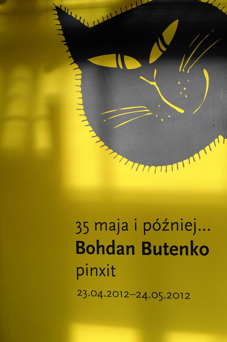 """Zdjęcie z wystawy """"35 maja i później... Bohdan Butenko"""" (źródło: materiał prasowy)"""