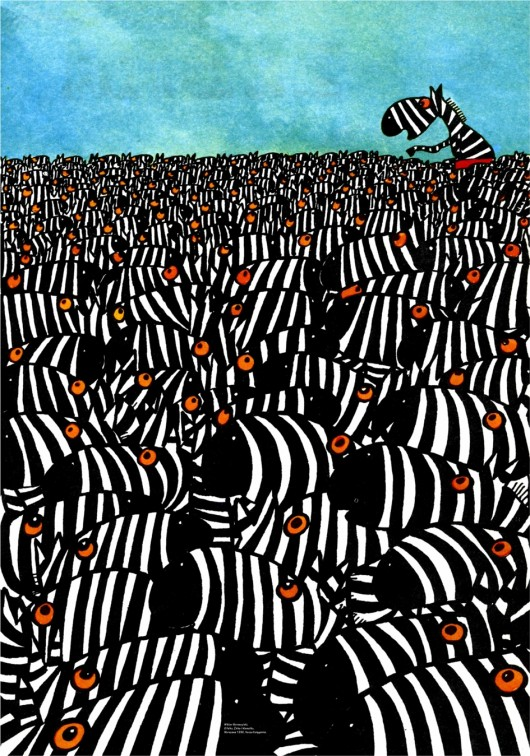 """Ilustracja autorstwa Bohdana Butenki pochodzi z książki Wiktora Woroszylskiego, """"O Felku, Żbiku i Mamutku"""", Warszawa 1990, Nasza Księgarnia (źródło: materiały prasowe)"""