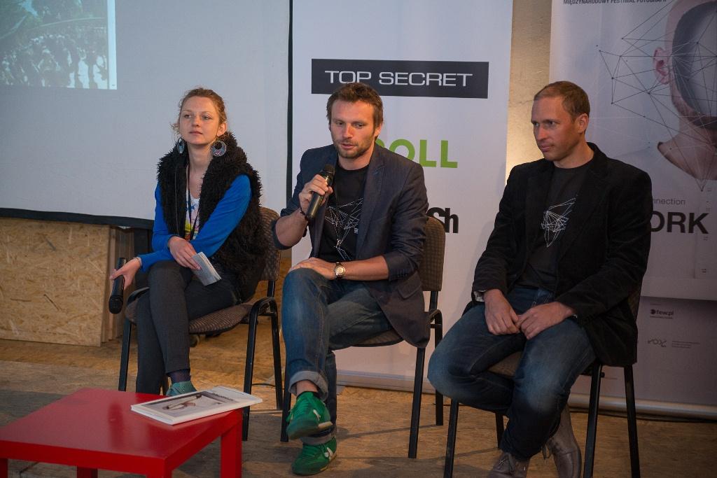 Fotofestiwal – konferencja prasowa – 8 maja 2012 (źródło: materiały prasowe)