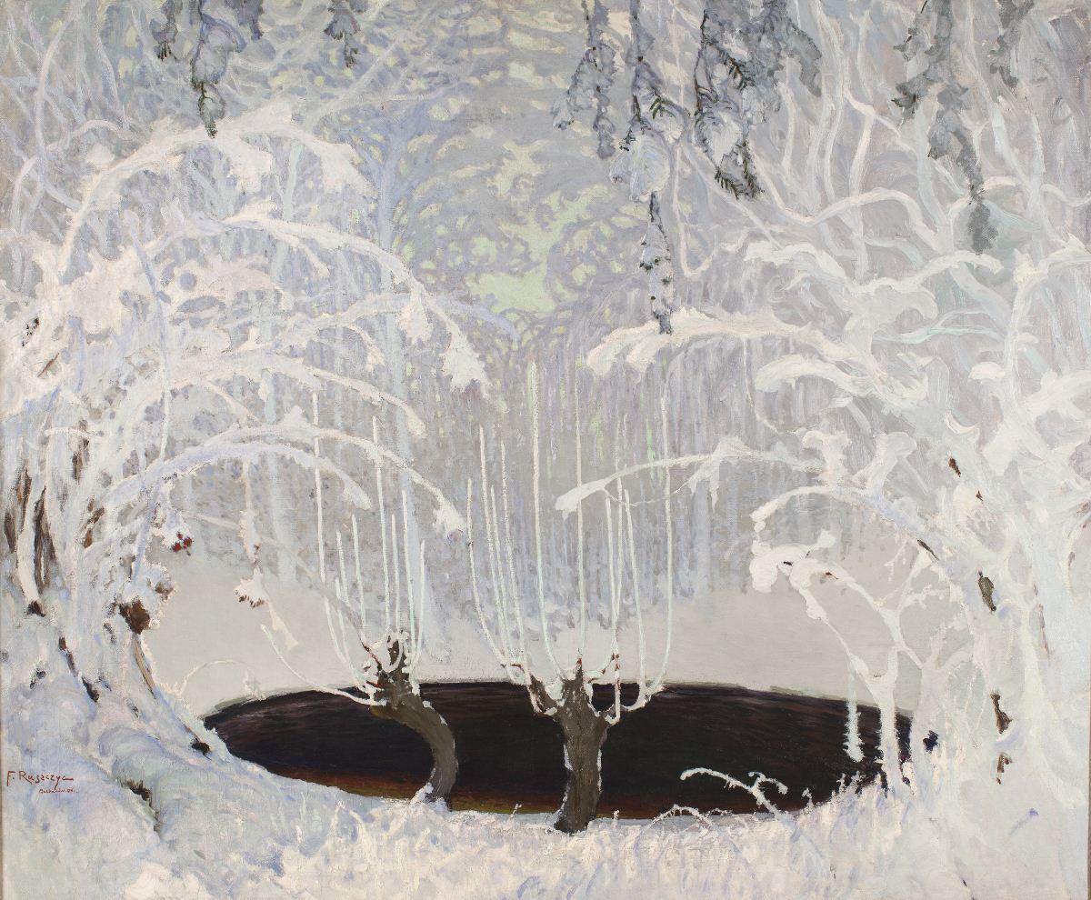 """Ferdynand Ruszczyc, """"Bajka zimowa"""", 1904, Muzeum Narodowe w Krakowie"""
