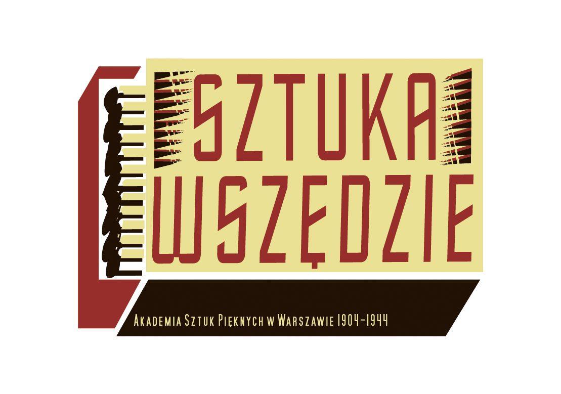 Logotyp wystawy Sztuka wszędzie (źródło: materiały prasowe)