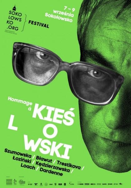 """""""Sokołowsko Festiwal – Hommage à Kieślowski"""", plakat (źródło: materiały prasowe)"""