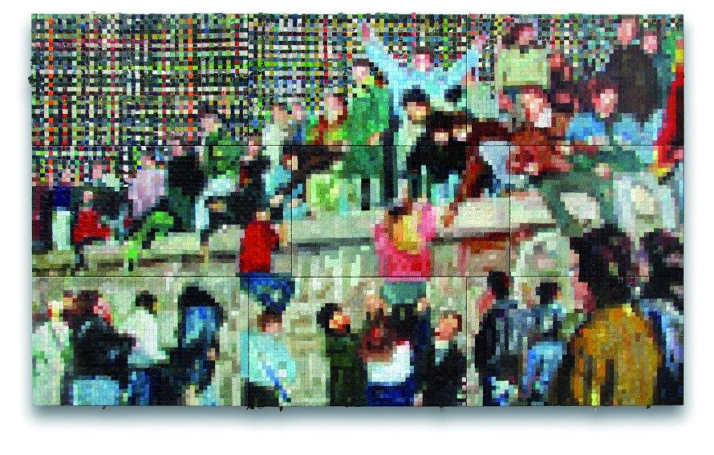 """Upadek muru"", Urban Art (źródło: materiały prasowe organizatora)"