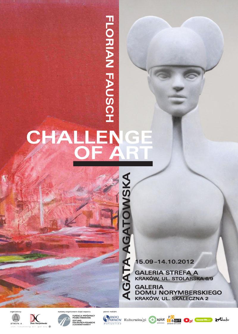Challenge of art, plakat (źródło: materiały prasowe)