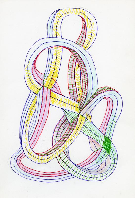 """Stefan Themerson, """"Impossible Drawing"""", rysunek (źródło: materiały prasowe)"""