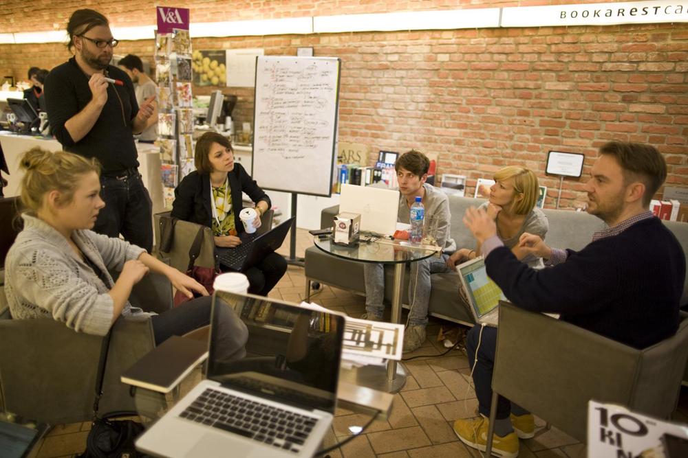 Warsztat pisania o modzie w ramach V edycji AFF, fot. Roman Lipigorski (źródło: materiały prasowe organizatora)