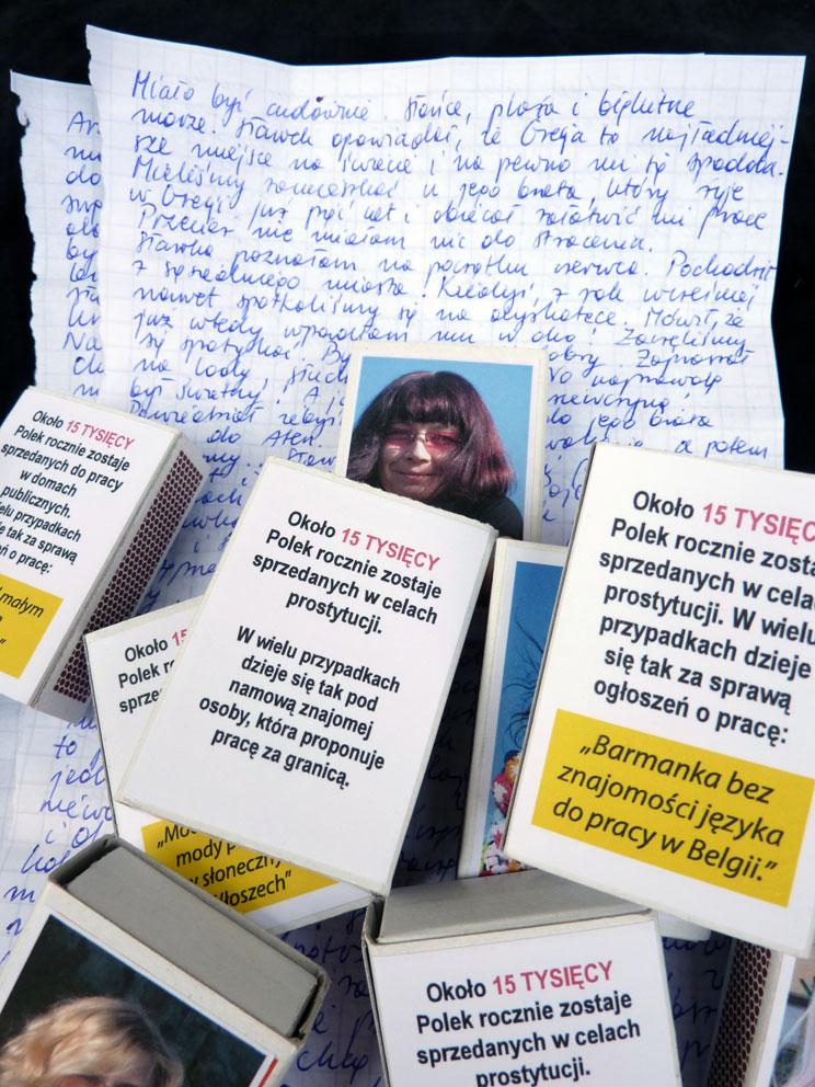 """Iwona Demko """"Barmanka bez znajomości języka do pracy w Belgii"""" (źródło: materiały prasowe organizatora)"""