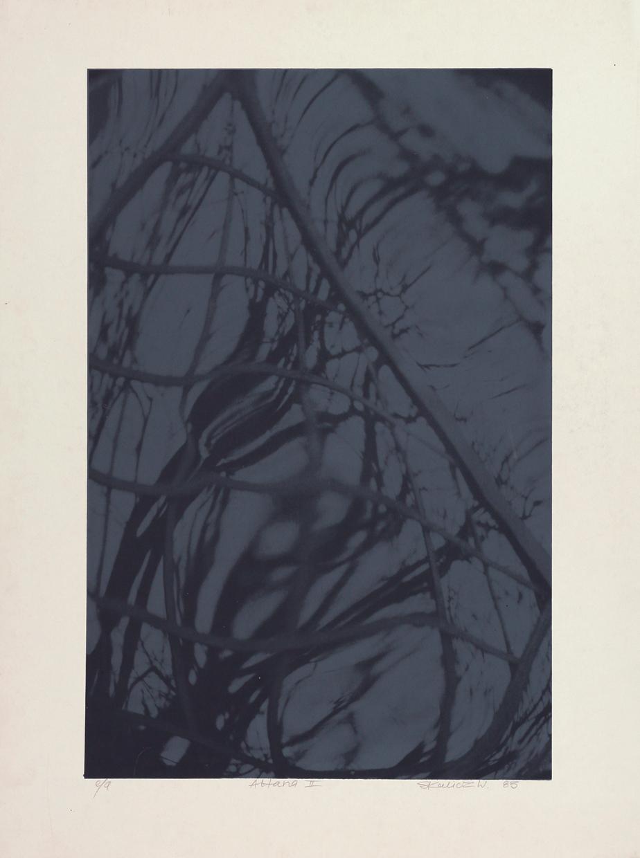 """Witold Skulicz, """"Altana II"""", serigrafia, 1983, własność rodziny artysty (źródło: materiały prasowe)"""