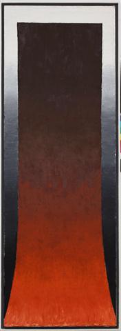 Andzelm Gallery - Gierowski.1991.r. DCXXXIX. 200.x.75.cm (źródło: materiały prasowe organizatora)