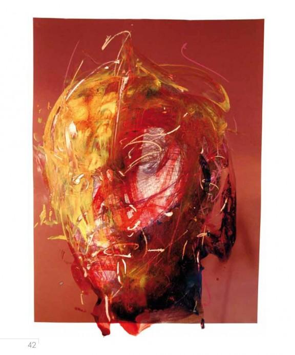 """Carl-Peter Buschkühle, wystawa """"Głowy"""", SMOK, Słubice (źródło: materiały prasowe organizatora)"""