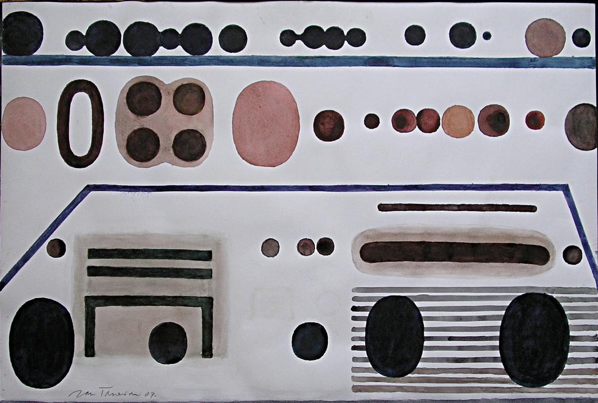 Galeria Artemis - Tarasin, Partytury, 2007 (źródło: materiały prasowe organizatora)