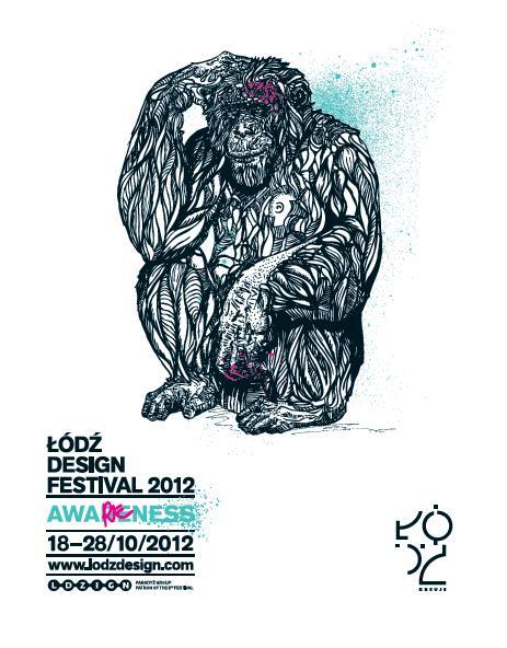 Łódź Design Festival, plakat (źródło: materiały prasowe organizatora)