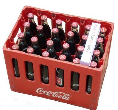 The Future is Stupid, Model AidPod (Mark III) in Coca-Cola crate, credit: Tim Dench (źródło: materiały prasowe organizatora)