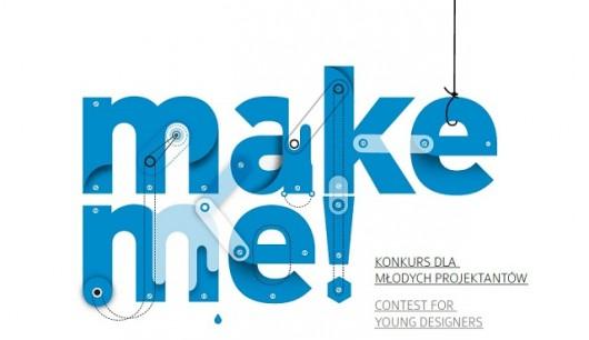 """Konkurs dla młodych projektantów """"make me!"""" (źródło: materiały prasowe)"""