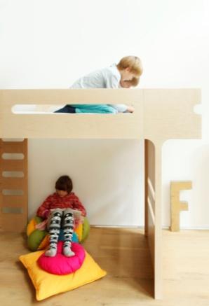 Łóżka F&R / F&R Beds, projekt: Agata i Arek Seredyn (źródło: materiały prasowe organizatora)